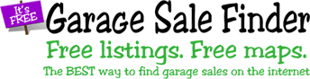 Garages Sale Finder Logo