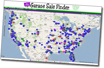 Yard Sale Listings by Zip Code | GarageSaleFinder com